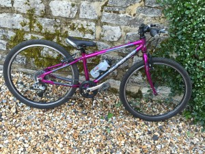 Lot 70 - Kids Isla Bike – hardly used – great condition – Benin 24 model. - Sold for £80