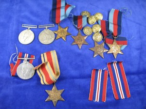 Word War II Medals - Sold for £50