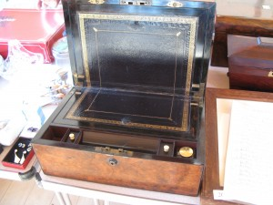 Lot 199 - Writing Slope. Sold for £75
