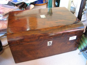Lot 200 - Writing Slope. Sold for £80