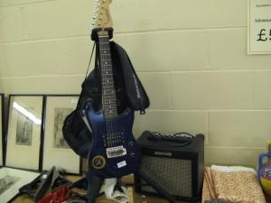 Chiild's Tanglewood Electric Guitar and Kustom Practice Amp