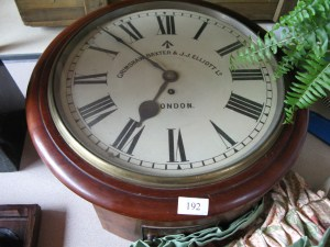 Lot 192 - Station Clock - Sold for £140