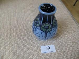 Lot 49 - Moorcroft vase - Sold for £45