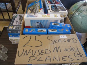 Lot 176 - Collection of SMER aircraft models - Sold for £40
