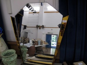 Lot 177 - Art Deco Mirror - Sold for £50