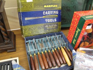 Lot 265 - Set of Twelve Wood Carving Tools by Marples - Sold for £32