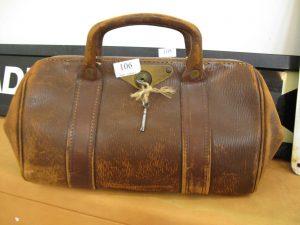 Lot 106 - Doctors Bag - Sold for £30