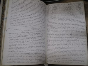 Lot 337 - Handwritten Diary from 1800s - Sold for 50