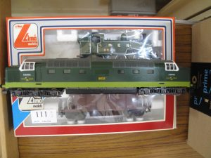 Lot 111 - Three Lima model railway engines - Sold for £40