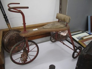 Lot 384 - Antique childs tricycle - Sold for £30