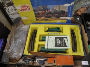 Lot 110 - Hornby train set - Sold for £30
