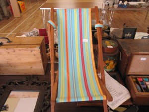 Lot 334 - Childs Deck Chair - Sold for £22