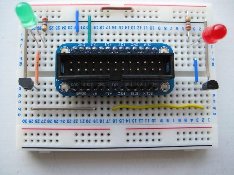 Raspberry Pi GPIO Breadboard
