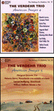 The Verdehr Trio – American Images Vol. 4 – Works of LORENZ, PUTS, THOMAS, HOIBY, FREUND – Crystal  The Verdehr Trio – American Images Vol. 5 – Works of BROUWER, SIERRA, WOLFGANG, WALLACE – Crystal