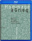 Hommage a Grieg = BRAHMS: Variations on a Theme of Joseph Haydn; PLAAGE: Grieg metamorphosis; BJORKLUND: Hommage a Grieg; SAINT-SAENS: Variations on Theme of  Beethoven – Denna Piano Duo, Vol. III – 2L (Pure Audio Blu-ray + SACD)