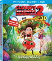 Cloudy with a Chance of Meatballs 2, 3D Blu-ray (2014)