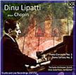 CHOPIN: Piano Concerto No.  1 in E Minor; Piano Sonata No. 3 in B Minor – Dinu Lipatti, p./ Tonhalle Orch. Zurich/ Otto Ackermann – Pristine Audio