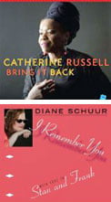 Catherine Russell – Bring It Back [TrackList follows] – Jazz VillageDiane Schuur – I Remember You (With Love to Stan and Frank) [TrackList follows] – Jazzheads