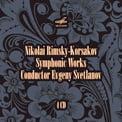 RIMSKY-KORSAKOV: Symphonic Works – USSR State Academic Sym. Orch./ Evgeny Svetlanov – Melodiya (4 CDs)