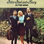 Peter, Paul And Mary – In The Wind [TrackList follows] – Warner Brothers/  ORG 45-rpm (2 vinyls)