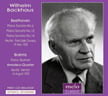 "Wilhelm Backhaus = BEETHOVEN: Piano Sonata No. 6 in F, No. 2; Sonata No. 12; Piano Sonata No. 14 in C-sharp Minor, ""Moonlight""; BRAHMS: Piano Quintet in F Minor – Wilhelm Backhaus, p./Amadeus String Q. – Meloclassic"