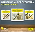 Orpheus Chamber Orchestra: 3 Classic Albums Reissues = Works of MOZART: Horn Concertos, Clarinet Con., Flute Con., Oboe Con., Bassoon Con. – DGG (3 CDs)