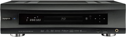 Oppo BDP-105D Universal 3D Disc Player