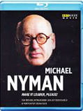 Michael Nyman – Make It Louder, Please!, Blu-ray (2014)
