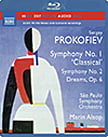 "PROKOFIEFF: Symphonies No. 1 ""Classical"" and No. 2; Dreams – Sao Paulo Sym. Orch./ Marin Alsop – Naxos audio-only Blu-ray"