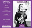 Myriam Solovieff, violin = BACH: Chaconne from Solo Partita No. 2 in D Minor; MOZART: Violin Sonata in E Minor; BRAHMS: Violin Sonata No. 3 in D Minor – Myriam Solovieff, v./ Julius Katchen, p. – MeloClassic