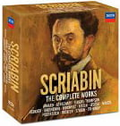 ALEXANDER SCRIABIN: The Complete Works (Playlist follows) – Decca (18 CDs)