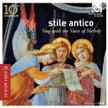 """Sing with the Voice of Melody"" = stile antico – Harmonia mundi"