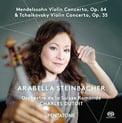 MENDELSSOHN: Violin Concerto in e minor; TCHAIKOVSKY: Violin Concerto in D Major – Arabella Steinbacher, v./ Orch. de la Suisse Romande/ Charles Dutoit – PentaTone