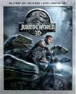 Jurassic World 3D Blu-ray (2015)