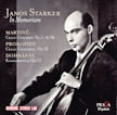 Janos Starker: In Memoriam = Cello Concertos of MARTINU, PROKOFIEV & DOHNANYI – Praga Digitals