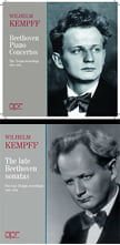 BEETHOVEN: Piano Concertos; The Late Sonatas – Wilhelm Kempff, p. – APR (4 CDs)
