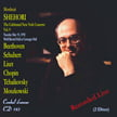 Shehori – The Celebrated New York Concerts, Vol. 9 = Works of BEETHOVEN, LISZT, SCHUBERT, TCHAIKOVSKY, CHOPIN & MOSZKOWSKI – Mordecai Shehori, p. – Cembal d'amour CD