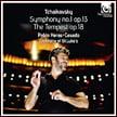 "TCHAIKOVSKY: Symphony No. 1 in g minor, ""Winter Daydreams""; The Tempest – Orch. of St. Luke's/ Pablo Heras-Cadado – Harmonia mundi"