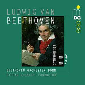 BEETHOVEN:  Symphonies No. 4 & No. 7 – Beethoven Orchester Bonn – MDG