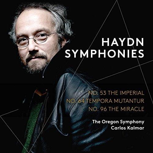 HAYDN: Symphonies no. 53, no. 64, no. 96 – Oregon Symphony/Carlos Kalmar – Pentatone