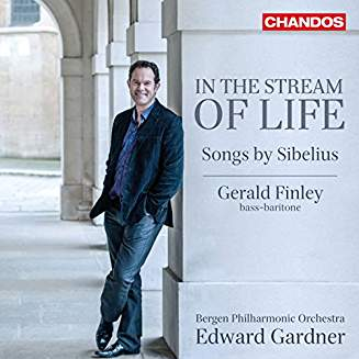"Jean SIBELIUS:  ""In the Stream of Life"", Songs – Gerald Finley (bass/bar) / Bergen Phil. Orch. / Edward Gardner – Chandos"