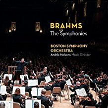 """BRAHMS: """"The Symphonies"""" – Boston Symphony Orchestra/ Andris Nelsons – BSO Classics"""