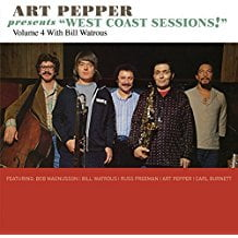 "Art Pepper and Bill Watrous – Art Pepper Presents ""West Coast Sounds"" Vol. 4 – Omnivore"