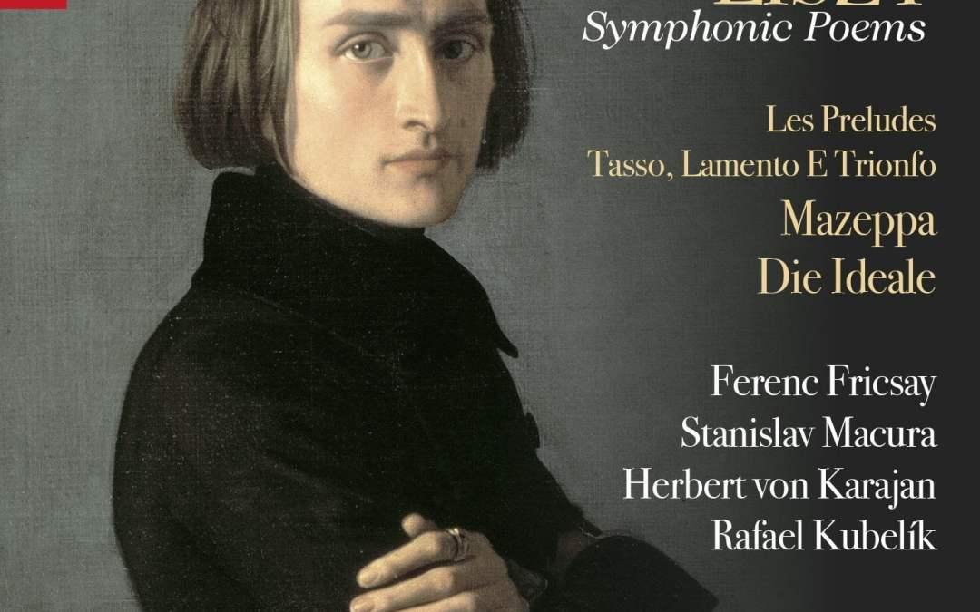 LISZT: Symphonic Poems – Herbert Von Karajan/ Ferenc Fricsay / Stanislav Macura / Rafael Kubelik – Praga Digitals