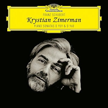 SCHUBERT: Piano Sonata in A Major, D. 959; Piano Sonata in B-flat Major, D. 960 – Krystian Zimerman, piano – DGG