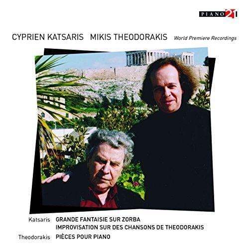 Cyprien Katsaris plays THEODORAKIS = KATSARIS: Grande Fantaisie sur Zorba; Improvisation; THEODORAKIS: Prelude No. 7; Melos No. 5; Petite Suite for Piano – Cyprien Katsaris, piano – Piano 21