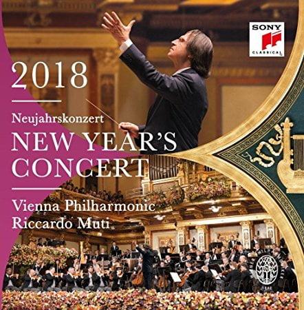 Vienna Philharmonic 2018 New Year's Concert = Works by Johann STRAUS I; Johann STRAUS II; Josef STRAUSS; SUPPE; CZIBULKA – Vienna Philharmonic Orchestra/ Riccardo Muti – Sony