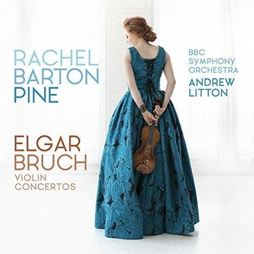 ELGAR: Violin Concerto; BRUCH: Violin Concerto No. 1 – Rachel Burton Pine, violin/ BBC Symphony Orchestra/ Andrew Litton – Avie