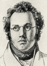 Portrait of Fanz Schubert