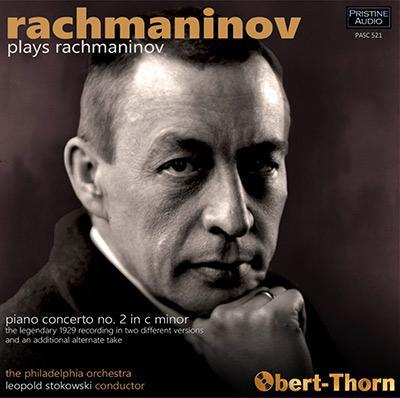 RACHMANINOV: Piano Concerto No. 2 – Serge Rachmaninov/ Philadelphia Orchestra/ Leopold Stokowski – Pristine Audio